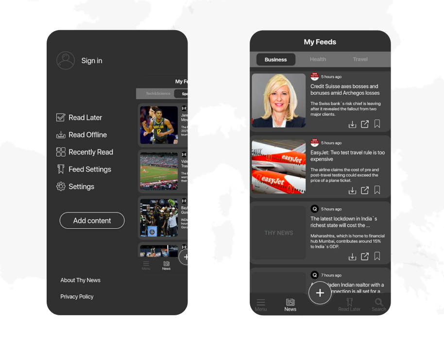 Trend Innovations Holding Inc. released the functionality updates of Thy News application